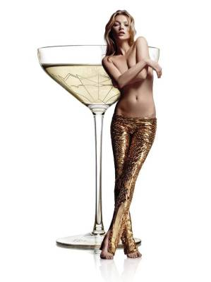 Kate Moss Champagne